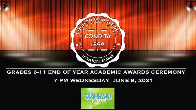 6-11 Houlton Academic Awards