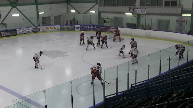 Hartland vs Woodstock Hockey