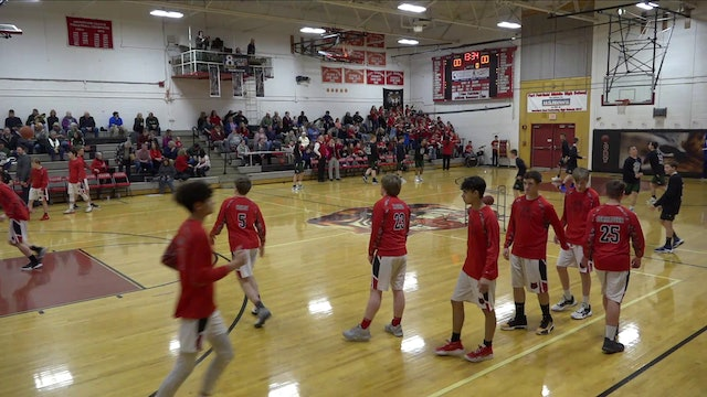 Penobscot Valley Boys at Fort Fairfield 2/12/20