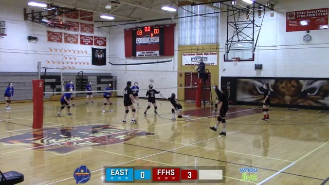 Easton at Ft Fairfield Girls Volleyba...