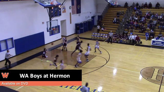 WA Boys at Hermon 1-15-18