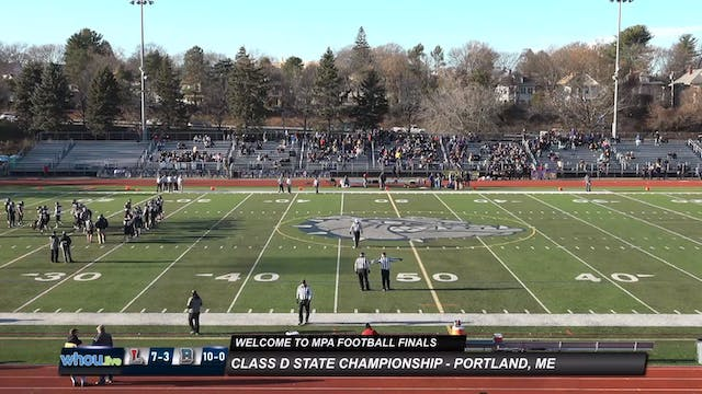 Lisbon/St. Dominic vs. Bucksport - Cl...