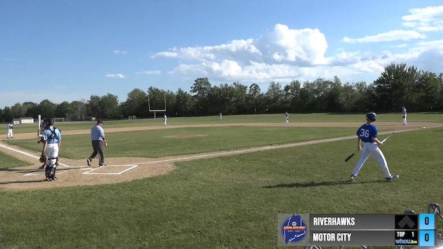 Maine Independent Summer Baseball League - Riverhawks vs Motor City 7/29/2020 - Part 1