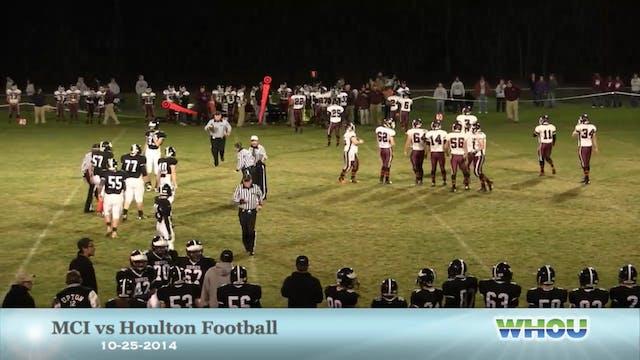MCI at Houlton Football 10-25-2014