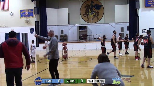 Limestone at Van Buren Boys MS Basket...