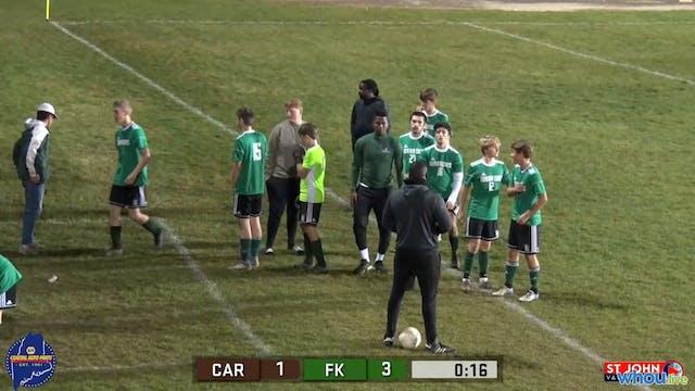 Caribou at Fort Kent Boys Soccer 10-7...