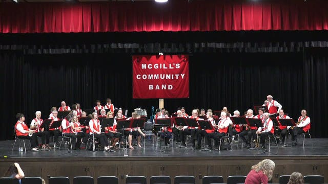 8-17-17 McGill's Community Band Concert
