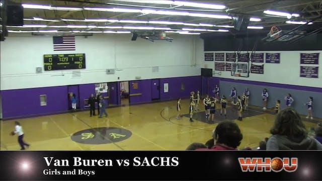 Van Buren vs SACHS Girls 1-20-14