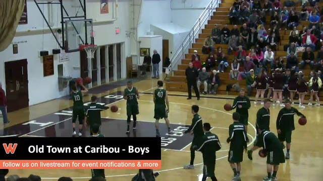 Old Town at Caribou - Boys 12-19-2015