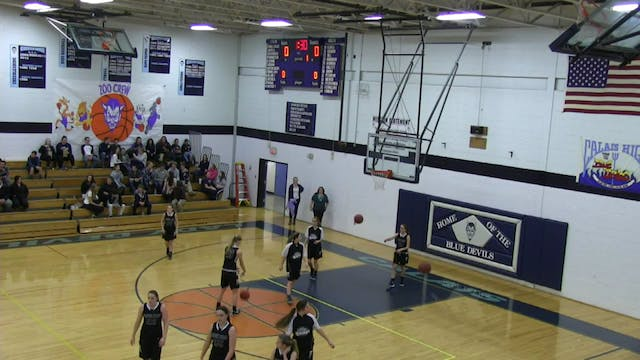 Houlton at Calais - Girls 1-12-16