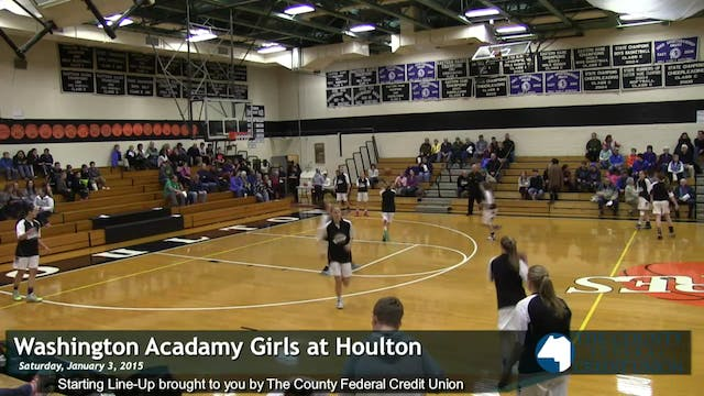 Washington Academy v Houlton Girls 1/...