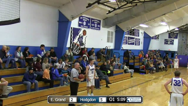 East Grand at Hodgdon - Boys 12-18-15