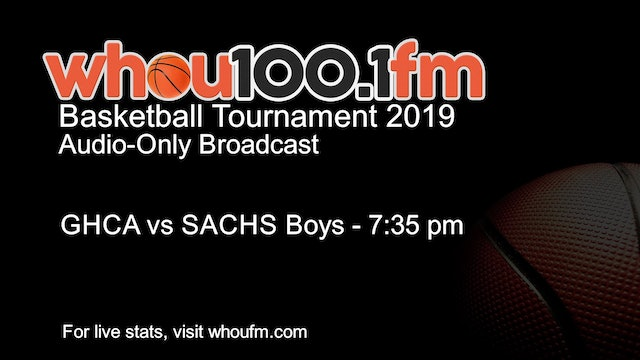GHCA vs SACHS Boys - 7:35 pm