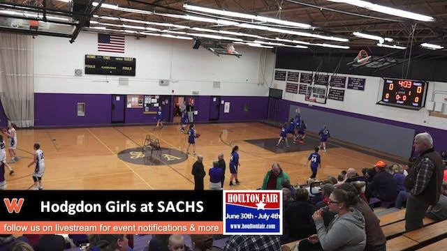 Hodgdon Girls at SACHS 1-11-18