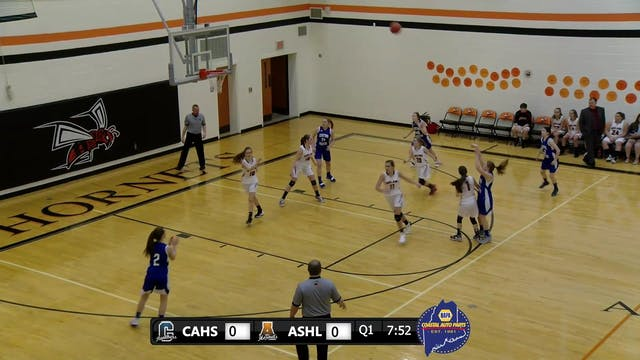 CAHS at Ashland - GIrls - December 29...