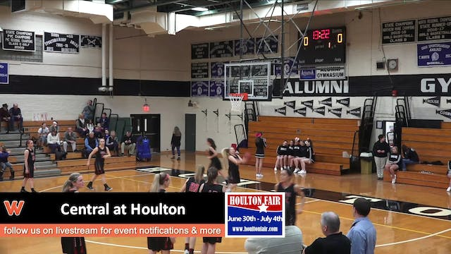 Central Girls at Houlton 1-6-18