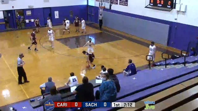 Caribou at SACHS Boys JV Basketball 1...