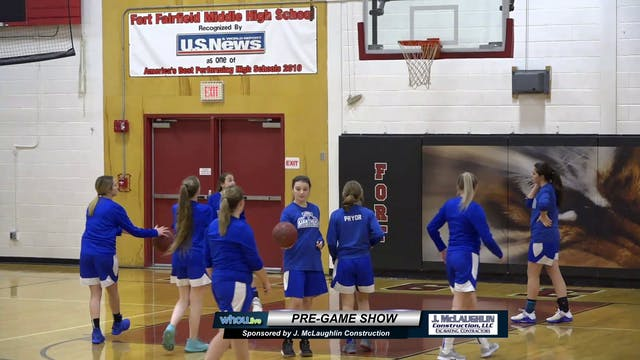 Central Aroostook Girls at Fort Fairf...