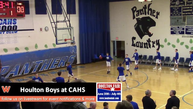 Houlton Boys at CAHS 1-25-18
