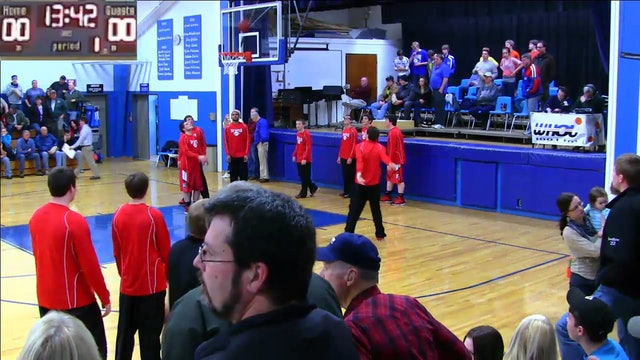 Fort Fairfield vs Hodgdon Boys 12-13-2012