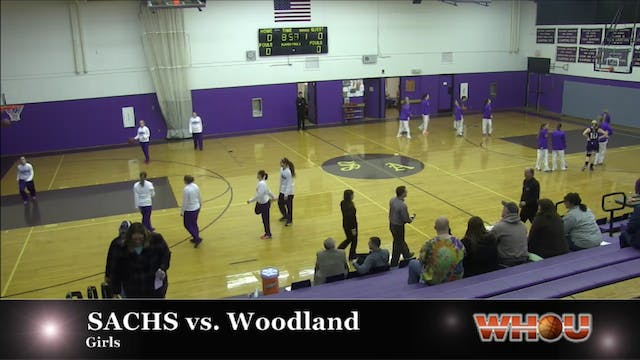 Woodland vs SACHS Girls 1-21-2014