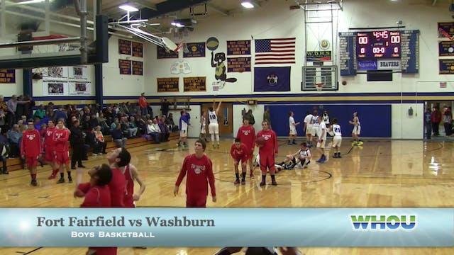 Fort Fairfield v Washburn Boys