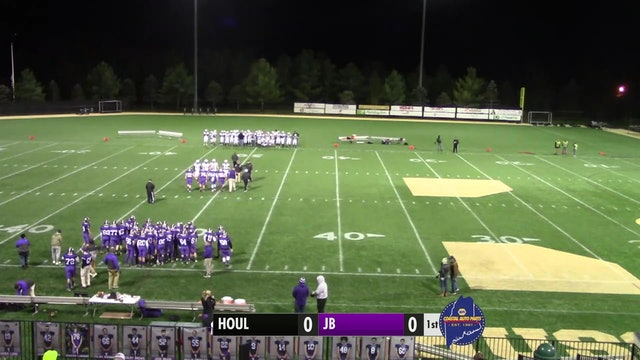 Houlton at John Bapst - Football 10-18-2019