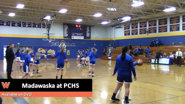 Madawaska Girls at PCHS Prelim 2-13-18