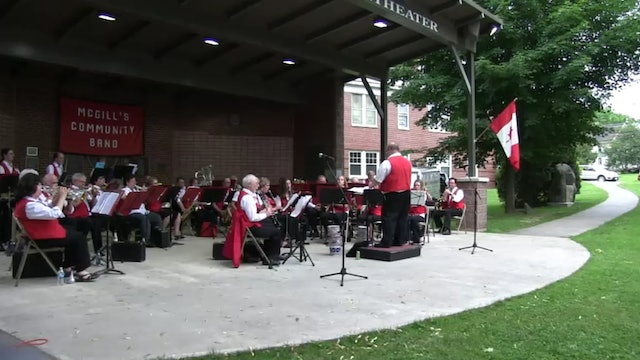 McGill's Band Concert 7/9/15 Recording