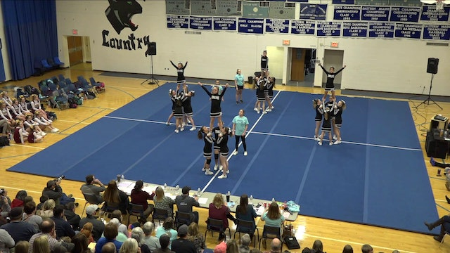 Aroostook Middle School Cheer 1-6-20