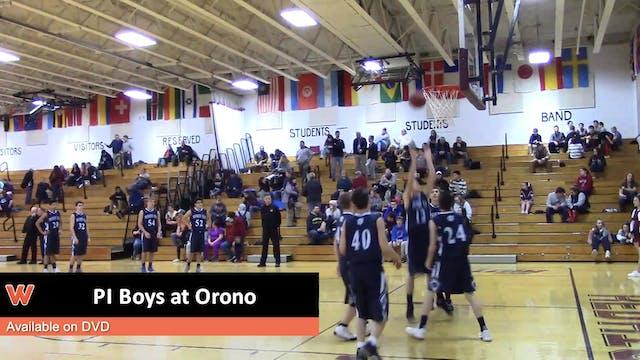 PI Boys at Orono 1-8-18