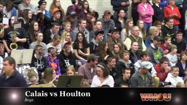 Calais vs Houlton Boys 1-10-14