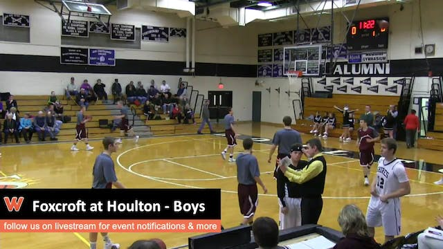 Foxcroft at Houlton - Boys
