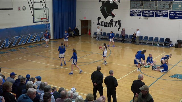 Searsport Girls at CAHS 2/11/20