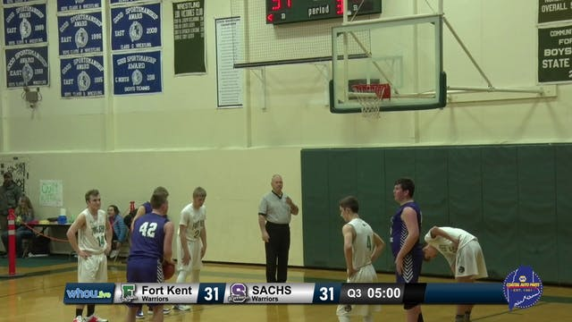 SACHS Boys at Fort Kent 12/14/19