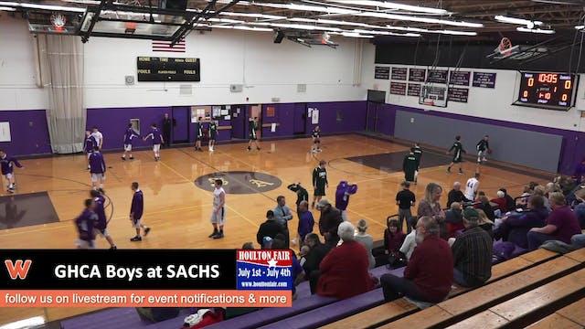 GHCA Boys at SACHS 12-11-17