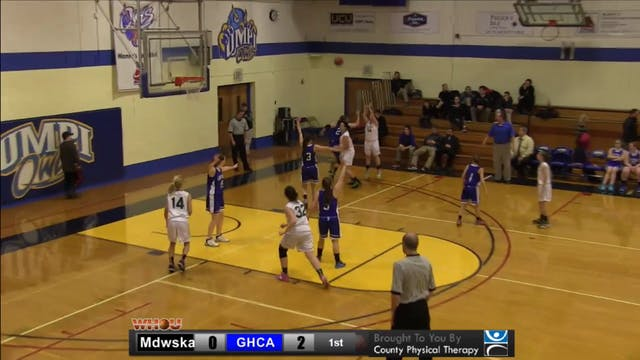 Madawaska vs GHCA Boys and Girls 1-16-14