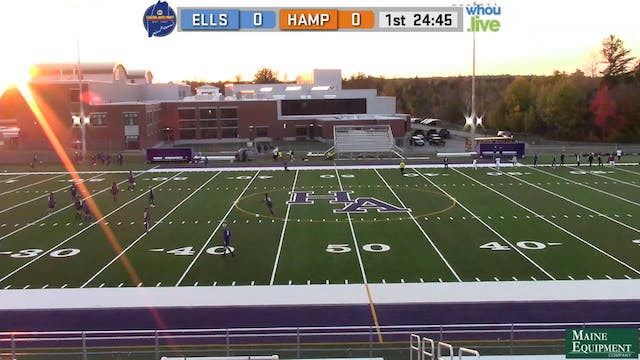 Ellsworth at Hampden Boys Soccer 10/9/20