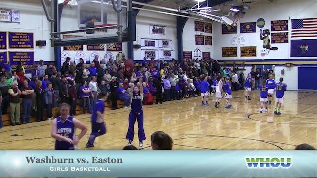 Easton vs Washburn Girls 2/5/14