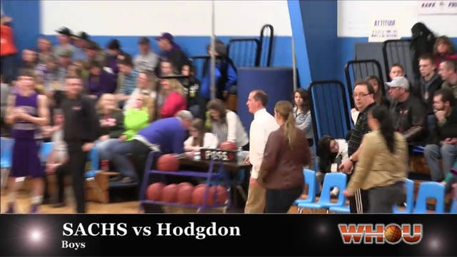 SACHS vs Hodgdon Boys 1-30-2014