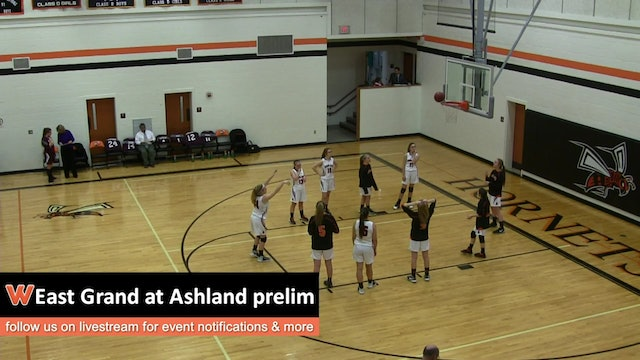 East Grand Girls at Ashland 2-14-17 Prelim