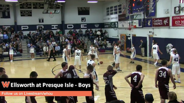 Ellsworth at Presque Isle - Boys 12/30/15