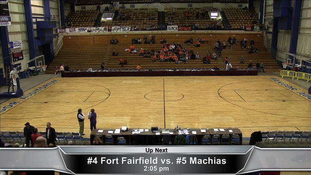 Fort Fairfield vs. Machias Girls Part 1