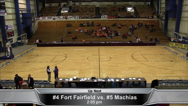 Fort Fairfield vs. Machias Girls Part 1