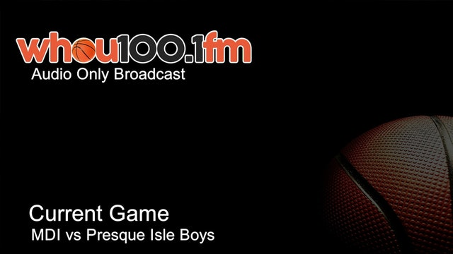 Bangor Tournament Coverage - Live Stats and Audio MDI vs Presque Isle Boys