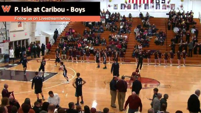 Presque Isle at Caribou - Boys 2/3/16
