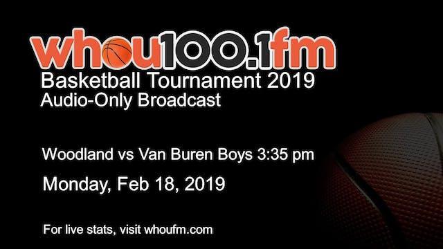 Woodland vs Van Buren Boys 3:35 pm