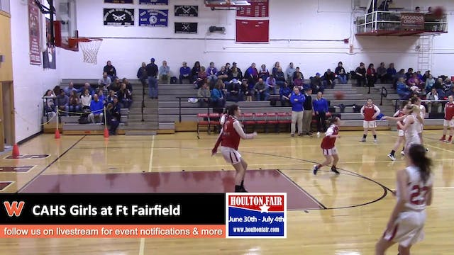 CAHS Girls v Ft Fairfield 12-18-17