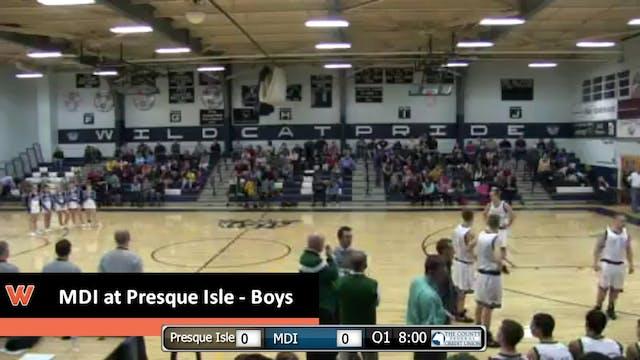 Presque Isle vs MDI boys 12-31-2015