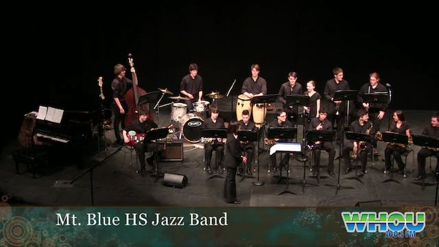 Mt. Blue High School Jazz Band